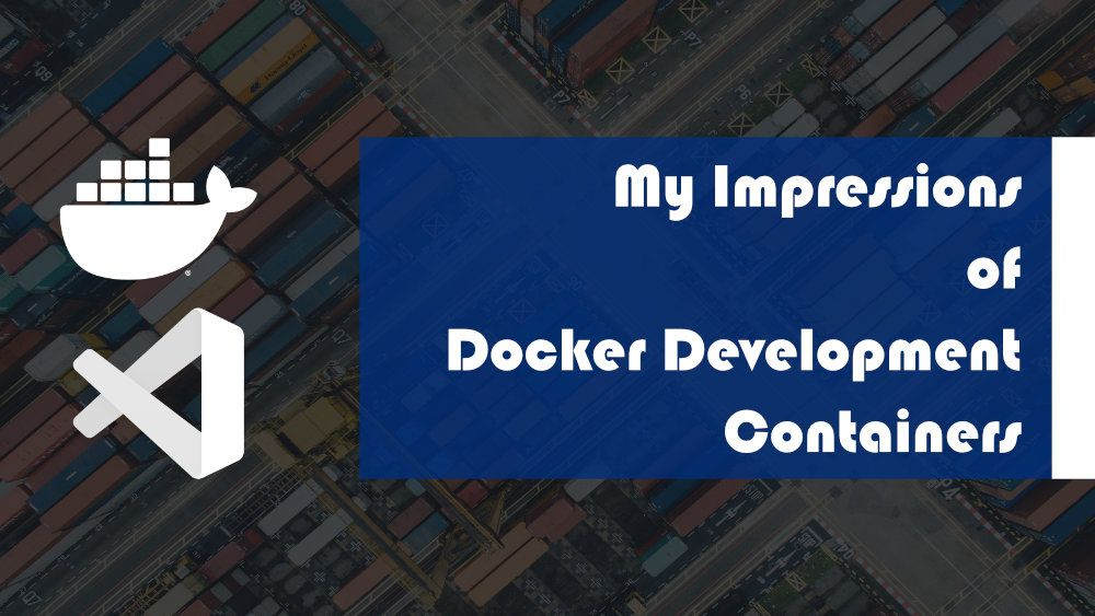 Docker development containers enable developers to setup development environment faster and consistently. With docker development containers, you can